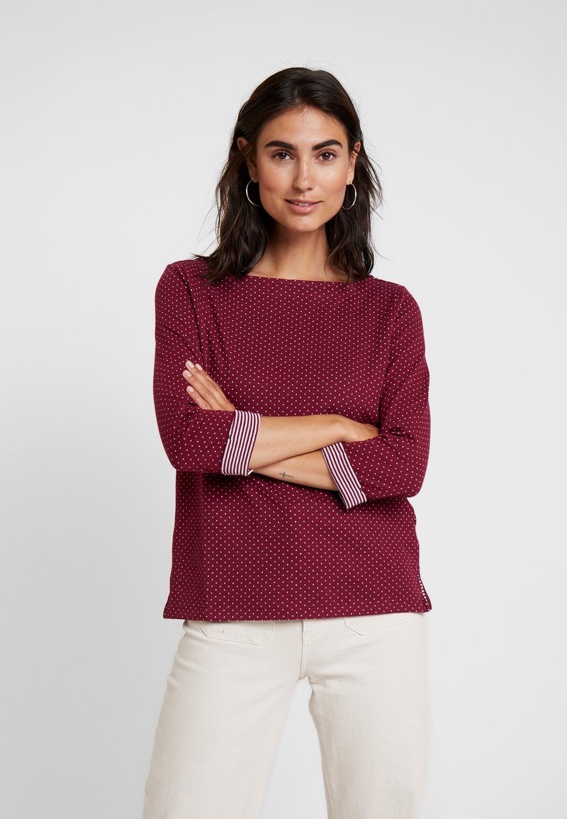 s.Oliver - 3/4 ARM - Long sleeved top - jewel red