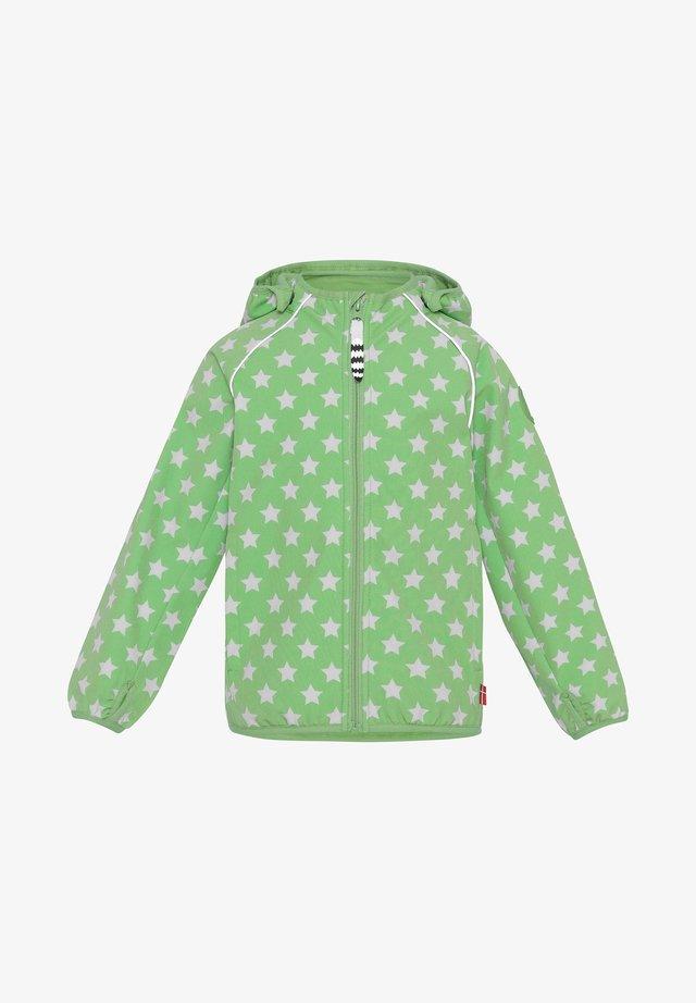 COLTON - Softshelljas - light green white
