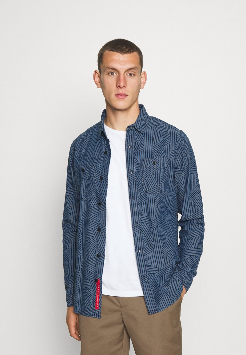 Scotch & Soda - WORK WEAR - Skjorta - blue