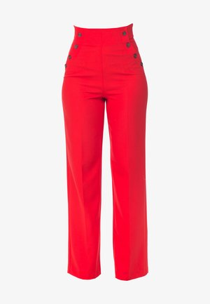 CHERRY - Trousers - red