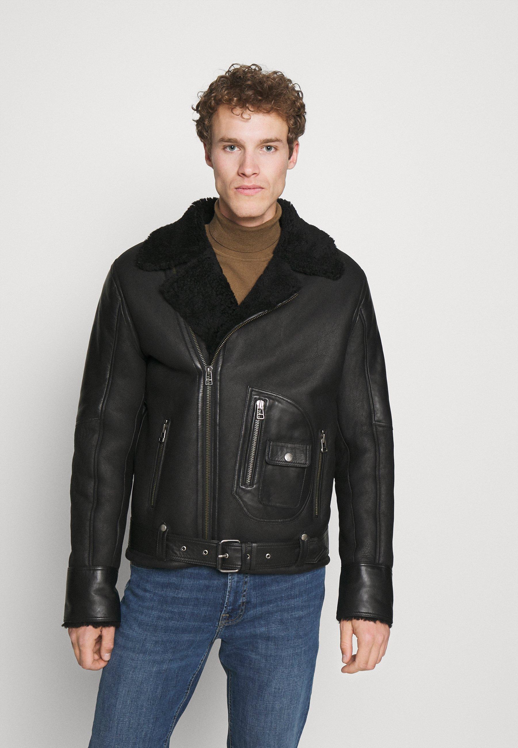 Men ASTER - Leather jacket