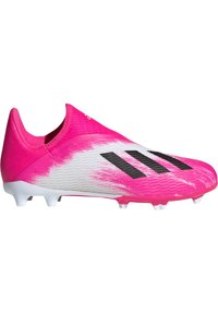 adidas Performance - ADIDAS PERFORMANCE X 19.3 LL FG FUSSBALLSCHUH  - Moulded stud football boots - footwear white / core black / show pink - 5