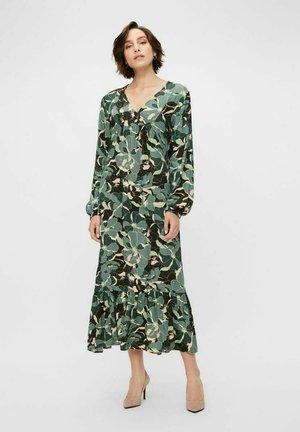 Maxi dress - mallard green