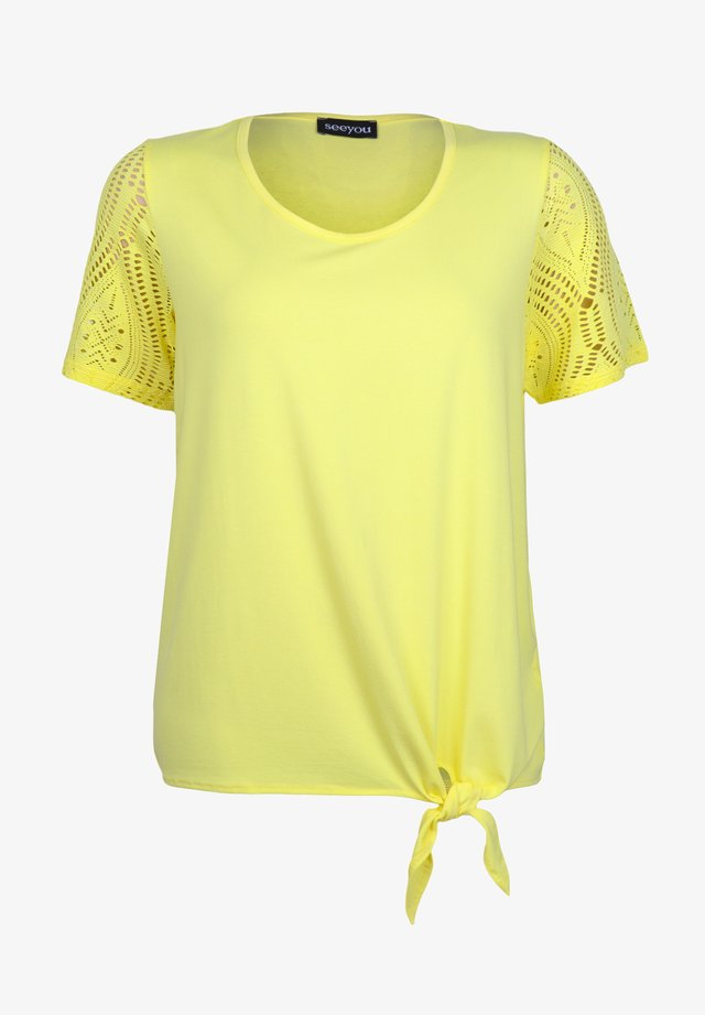 Blouse - citron