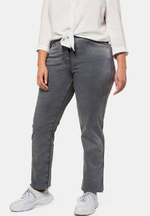 Straight leg jeans - blue/grey