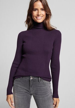 KIRSA - Jumper - dark purple