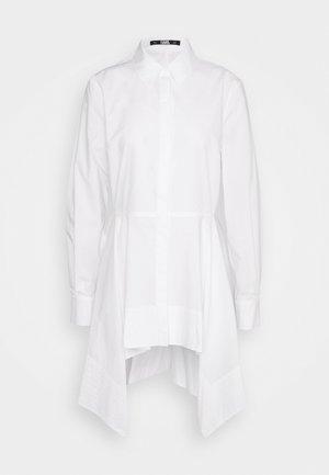 PEPLUM TUNIC - Blouse - white
