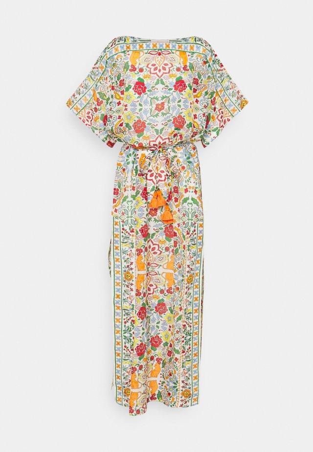 PRINTED LONG CAFTAN - Vapaa-ajan mekko - beige