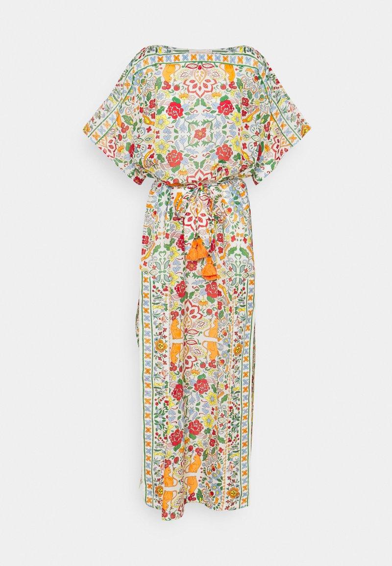 Tory Burch - PRINTED LONG CAFTAN - Day dress - beige