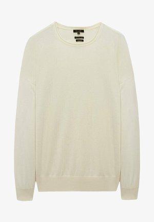 MIT FLEDERMAUSÄRMELN - Sweatshirts - beige