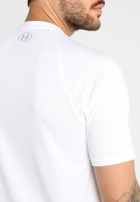 Under Armour - Sports shirt - white/overcast gray - 3