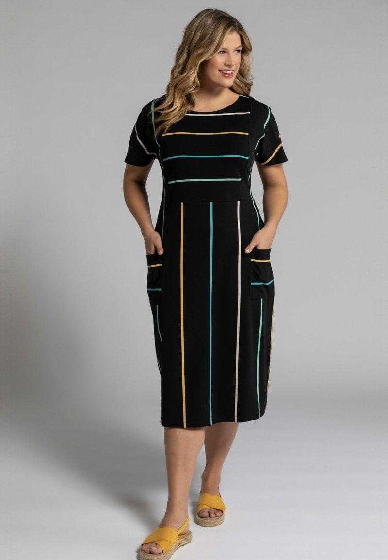 Ulla Popken - Shift dress - schwarz