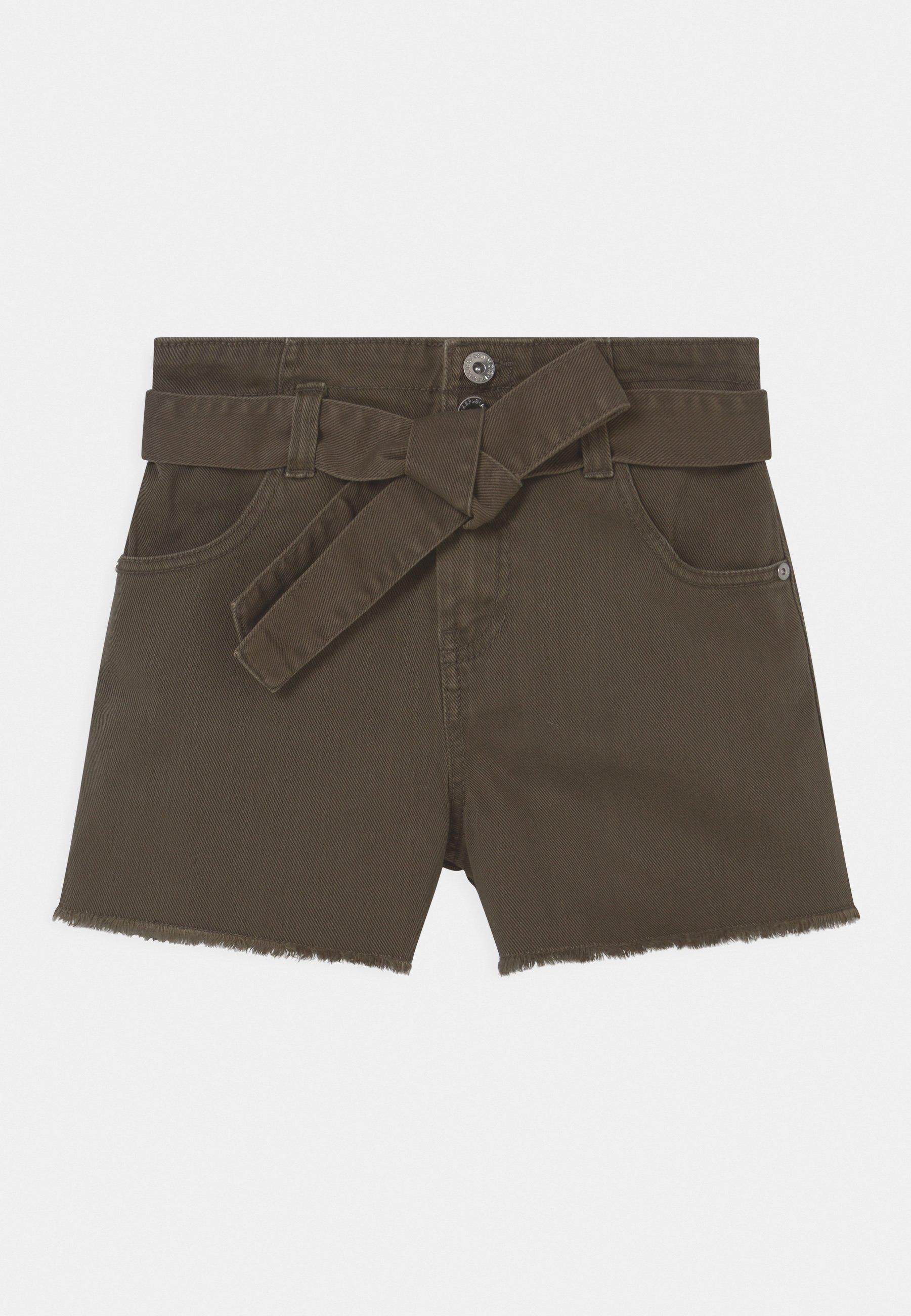 Kids BELT - Denim shorts