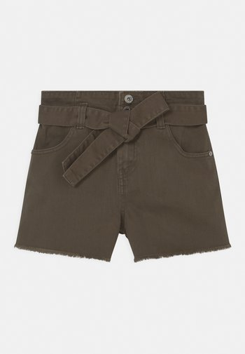BELT - Denim shorts - cypress
