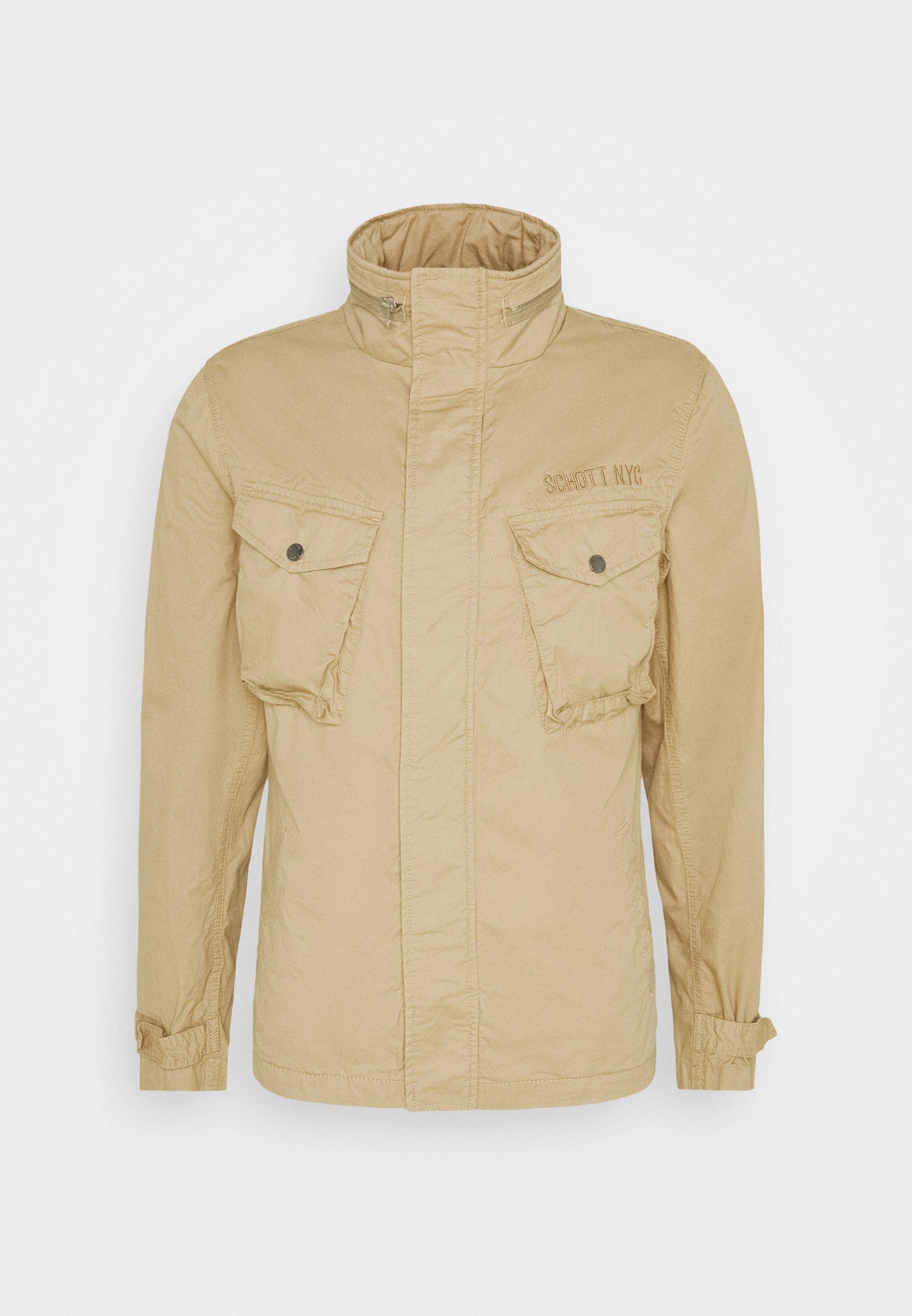 Schott ADAMS - Lett jakke - khaki