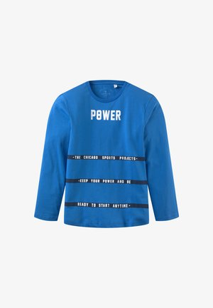 Long sleeved top - strong blue|blue