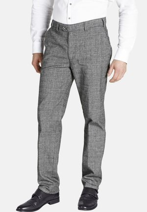 DUKE GILBERT - Suit trousers - grey