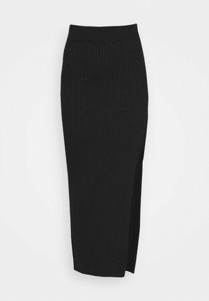 DUNES SKIRT - Pencil skirt - black