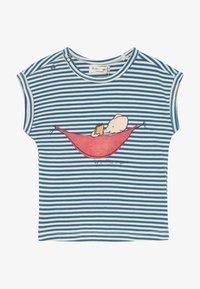 Smitten Organic - TEE CAP SLEEVE BABY ZGREEN - Print T-shirt - bamboo fresh - 2