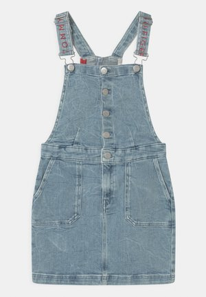DUNGAREE  - Robe en jean - light-blue denim
