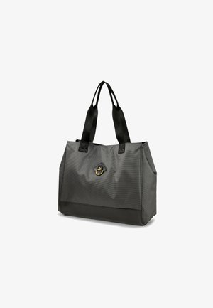 TIME LARGE  - Across body bag - puma black-iridescent