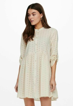 Shirt dress - creme