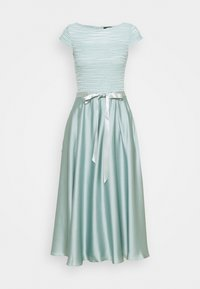 Cocktail dress / Party dress - pistazie/silver
