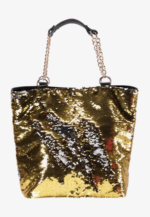 Tote bag - gold silber
