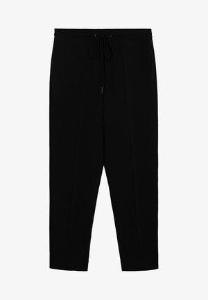 SEMIFLU - Trousers - noir