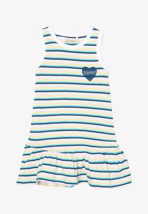Jersey dress - petrol blue 3/blue