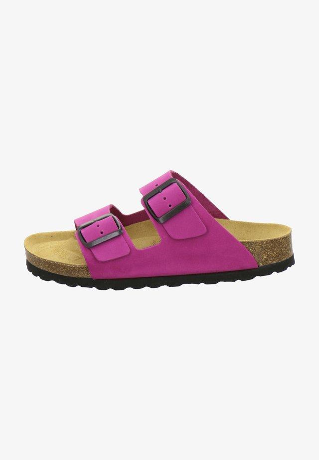 ZWEISCHNALLER - Slippers - pink