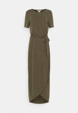 OBJANNIE NADIA DRESS TALL - Maxi dress - forest night