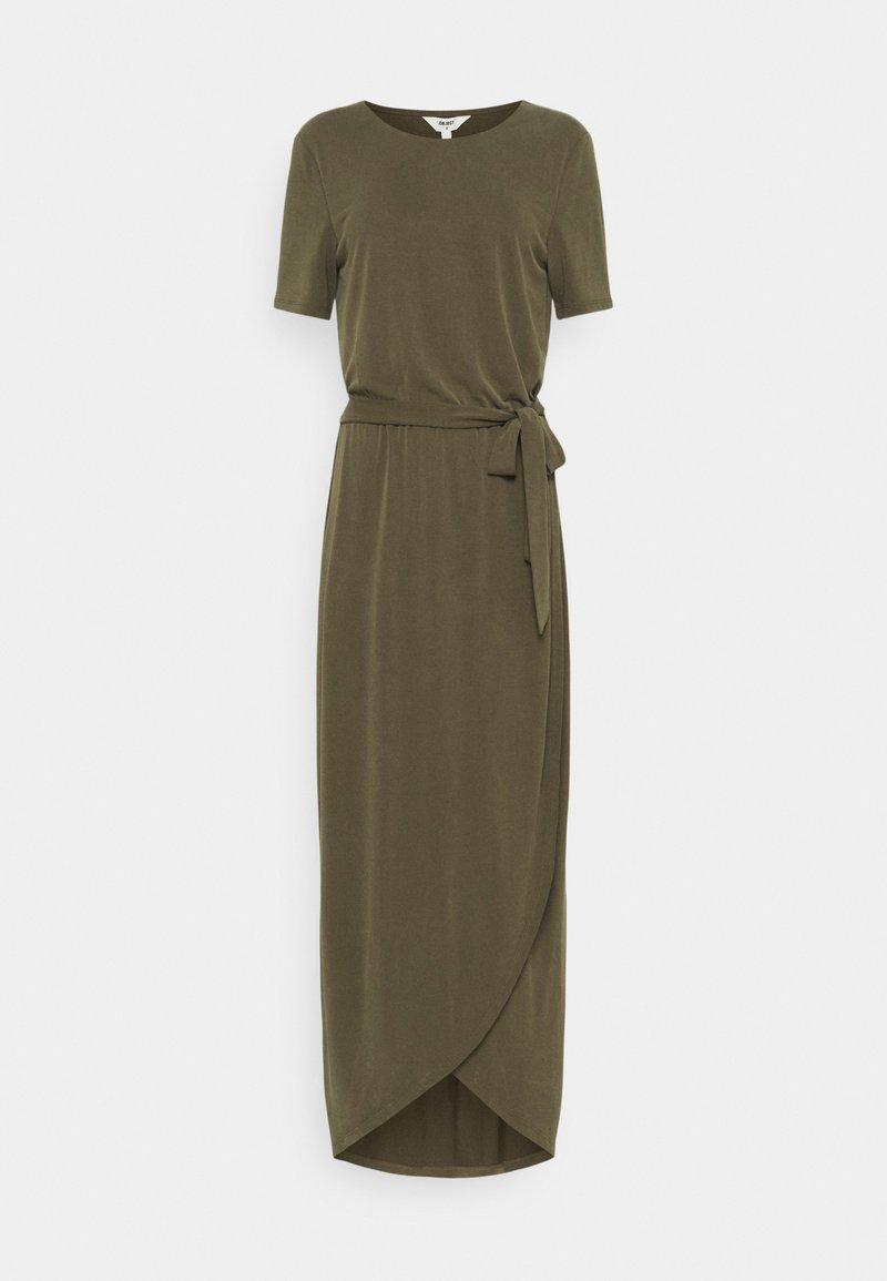 Object Tall - OBJANNIE NADIA DRESS TALL - Maxi dress - forest night