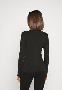 G-Star - XINVA SLIM TURTLE LONG SLEEVE C - T-shirt à manches longues - black - 2