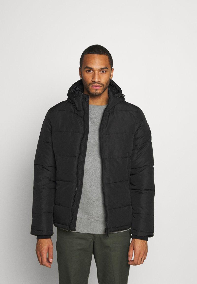 Burton Menswear London - MIDWEIGHT PUFFER - Talvitakki - black