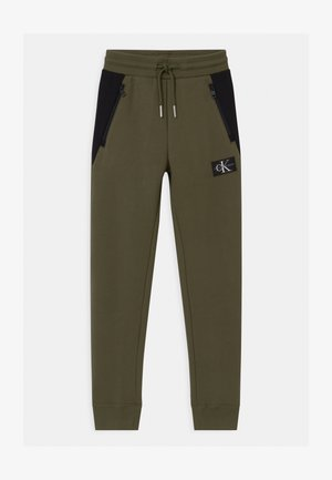 COLOUR BLOCK  - Pantaloni sportivi - green
