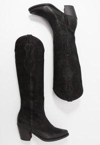 Felmini - LAREDO - Biker-/cowboysaappaat - black - 3