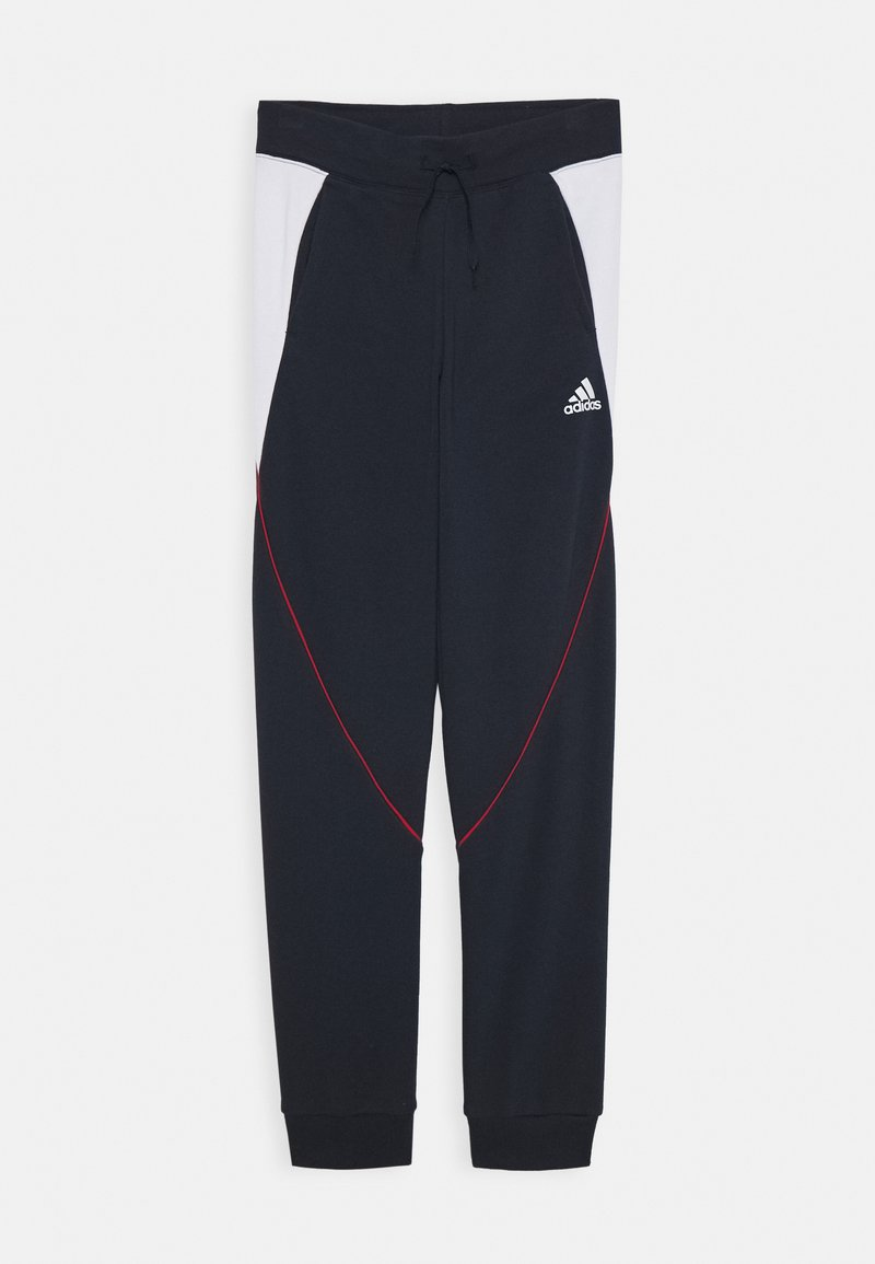adidas Performance - BOLD PANT - Tracksuit bottoms - legend ink/white
