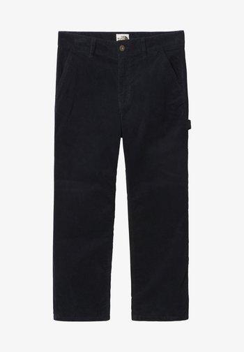 W BERKELEY CORDUROY PANT - Trousers - aviator navy