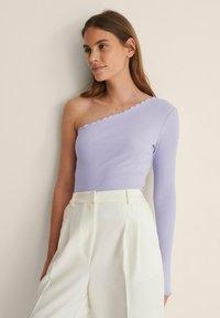 NA-KD - Long sleeved top - lilac - 0