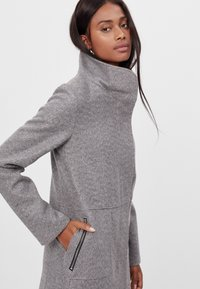 Bershka - Short coat - light grey - 3