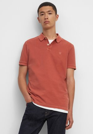 Polo shirt - burnished red