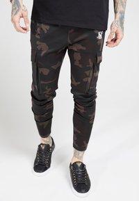 SIKSILK - ATHLETE PANTS - Teplákové kalhoty - dark - 4