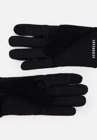 adidas Performance - RUN GLOVES UNISEX - Gloves - black - 1