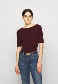 Lauren Ralph Lauren - Basic T-shirt - pinot noir - 0