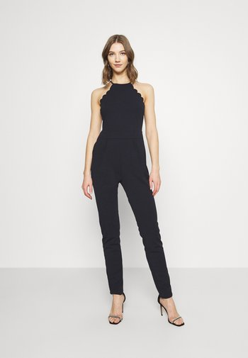 YELDA SCALLOP NECK - Overall / Jumpsuit - navy blue