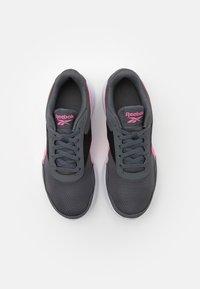 Reebok - ENERGEN LITE - Neutrální běžecké boty - grey/electric pink/core black - 3