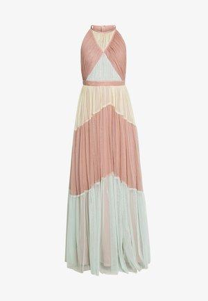 HALTER NECK MAXI DRESS - Occasion wear - geo multi