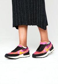 Nike Sportswear - WAFFLE ONE UNISEX - Trainers - active fuchsia/university gold/black/coconut milk - 0