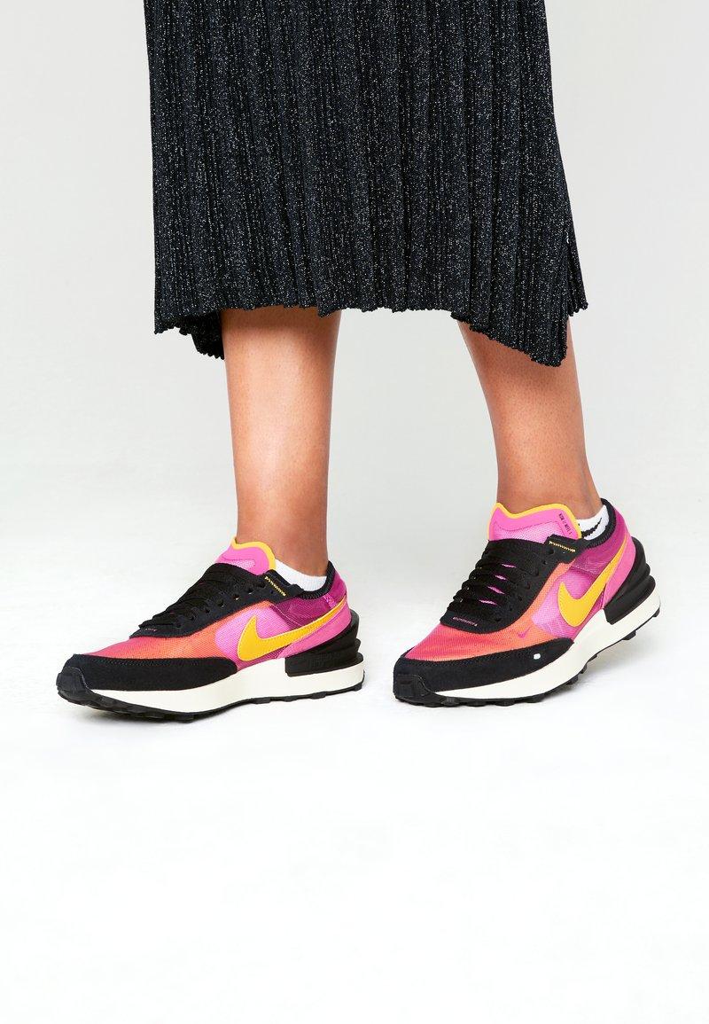 Nike Sportswear - WAFFLE ONE UNISEX - Trainers - active fuchsia/university gold/black/coconut milk